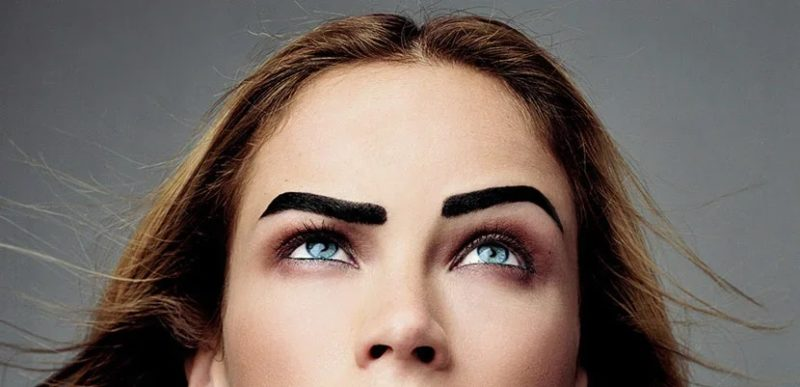 eyebrow is always more beautiful than the other