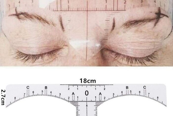 14 Best Eyebrow Ruler and How to Choose the Right Eyebrow Ruler