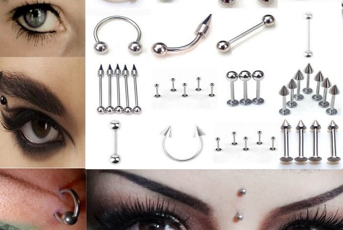 Best Eyebrow Piercing Jewelry and Eyebrow Piercing Types