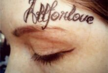 Above eyebrow tattoo is the weirdest tattoo trend: which celebrities have opted for an above eyebrow tattoo?