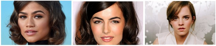 what is the most attractive eyebrow shape for women