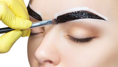 Can I use eyebrow top coat over a professional eyebrow tinting?